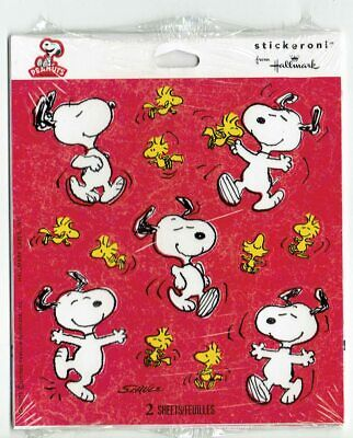 Choose 1 ~ VTG Vintage Package Pack Hallmark Stickers Holiday Animals Characters
