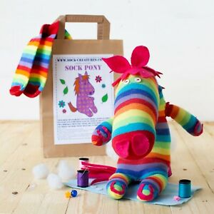 SOCK MONKEY CRAFT KIT. Christmas gift! Creature, sewing, kids, adult, child