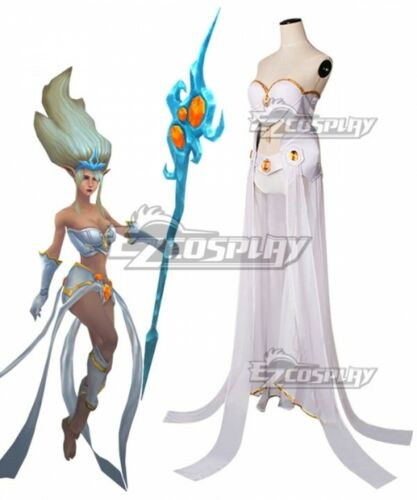 League of Legends Janna Cosplay Costume Full set