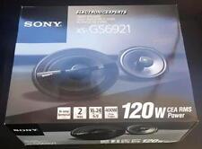 "SONY XS-GS6921 6"" x 9"" Car Speakers MRC Kevlar Woofer Dome Tweeter 6x9"" Coaxial"