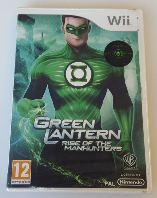 GREEN LANTERN RISE OF THE MANHUNTERS - NEW UNOPENED FOR NINTENDO WII