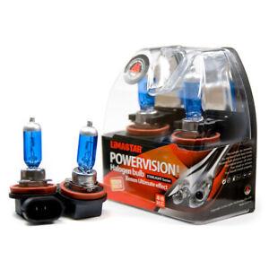 2-X-H11-Poires-PGJ19-2-Lampe-Halogene-6000K-55-Watt-Xenon-Ampoule-12V