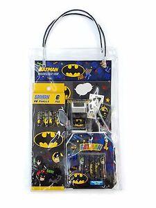 4-Piece DC Comics Eraser Pack Set B