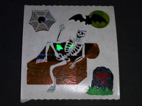Sticker Album STICKER SANDYLION Vintage années 90er paillettes Prismatic Chauves-souris