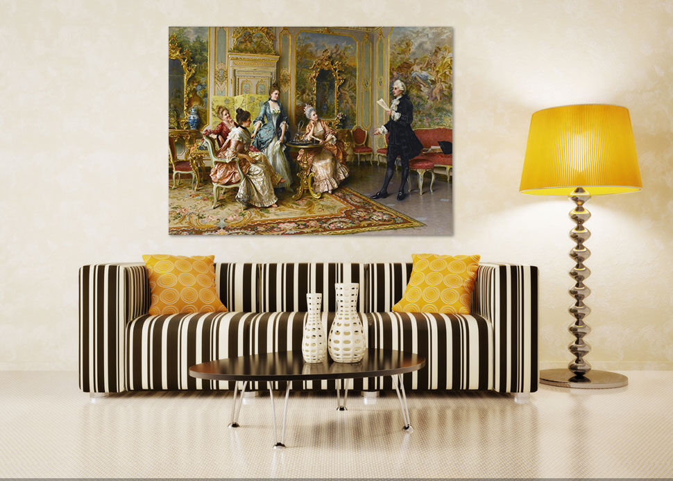 3D French palace art Wall Stickers Vinyl Murals Wall Print Deco Art AJSTORE UK