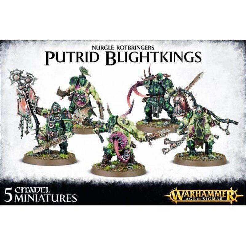 Warhammer 40k - nurgle verdorben blightkings - brand new in box - 83-28