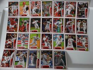 2012-Topps-Series-1-amp-2-St-Louis-Cardinals-Team-Set-of-26-Baseball-Cards