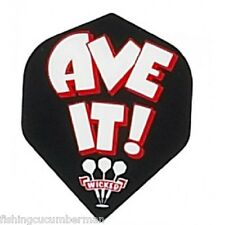 """5 SETS OF RUTHLESS """"AVE IT"""" DART FLIGHTS"""