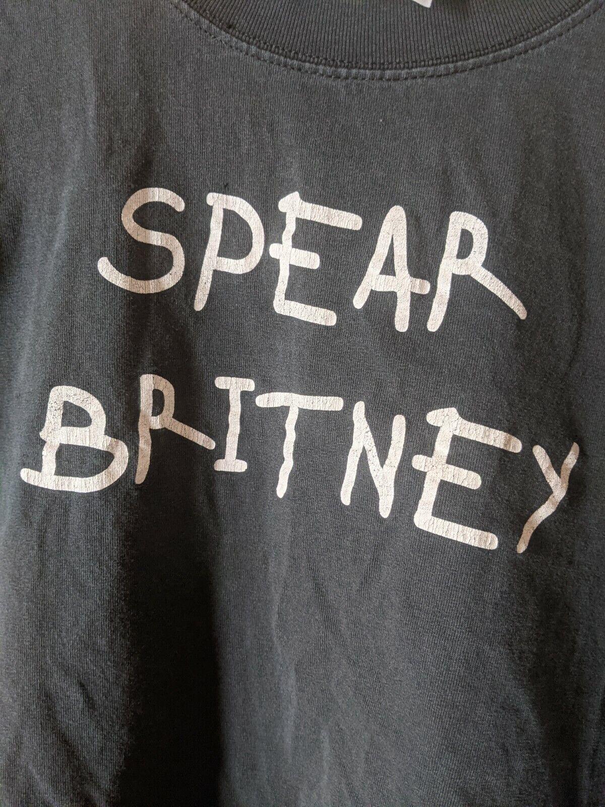Spear Britney Anti Britney Spears Shirt Medium Vi… - image 1