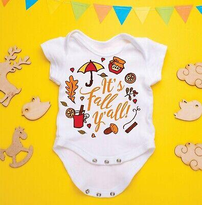 Pumpkin Custom Name Baby Onesie Shirt Fall Autumn Customized Newborn Gerber