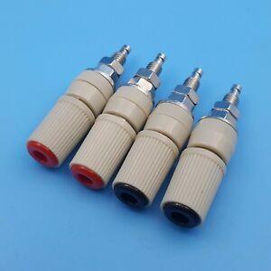 20PCS 30A M5 Type 4mm Amplifier Female Banana Jack Socket Test Bindin