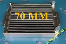 70mm Radiator for JEEP CJ7 W/ CHEVY V8 LS SWAP 1976-1986 1985 1984 1983 1982