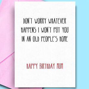 Image Is Loading Happy Birthday Cards Dad Mummy Mum Cool
