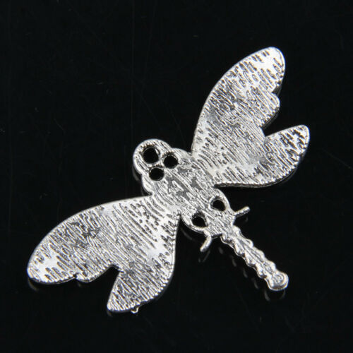 10pcs Tibetan Silver Dragonfly Pendants Charms for Jewelry Making