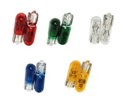 Fruit Machine Bulb Small 5mm Clear Red Blue Green Orange 12V 1.2W