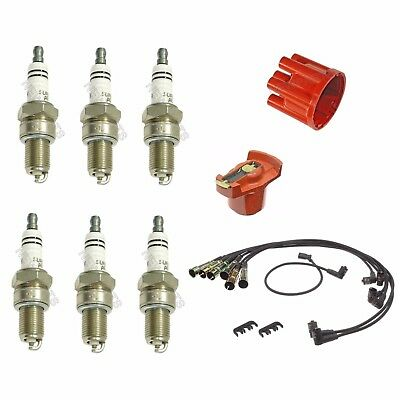BOSCH Ignition Kit Distri.Cap Rotor Plugs Wire for Mercedes-Benz 250SE 1967
