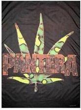 PANTERA - Grassleaves - Flagge Posterfahne Textilposter Flag - Neu #920001