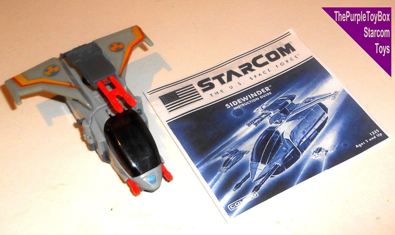 (R005) Vintage 1980's Starcom Toys  SIDEWINDER  Star Wing - WORKING