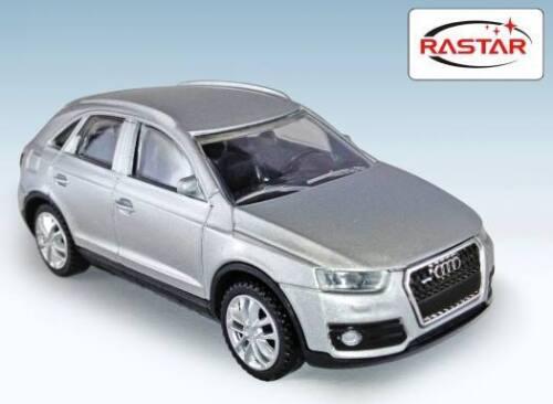 Audi Q3 silber Auto Modell Rastar Die-Cast 1:43 Metall Geschenk