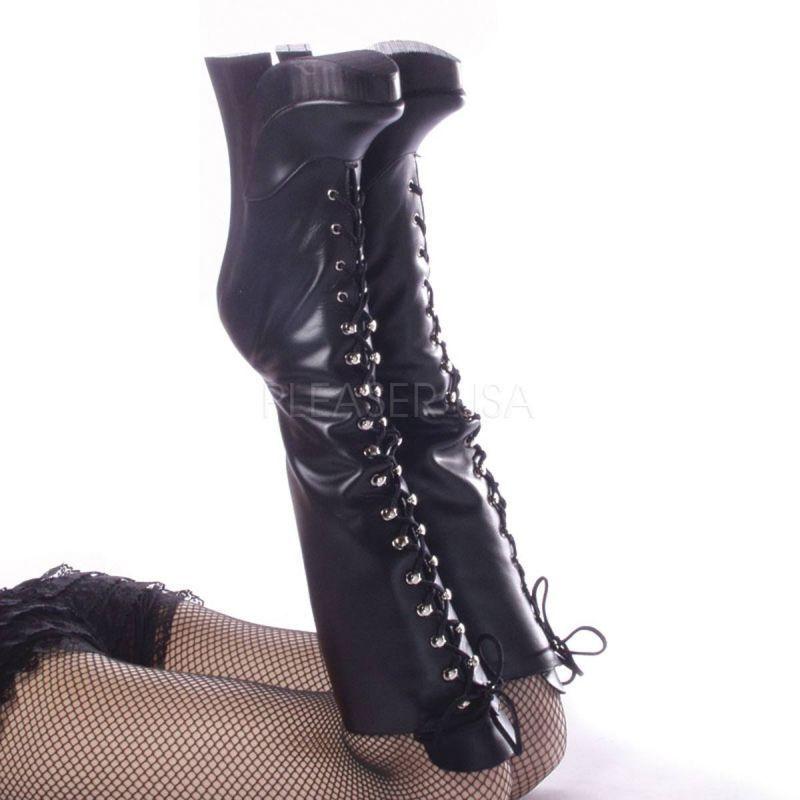 Devious FEMME - 2020 Stivali Plateau Pelle Nera estremamente-paragrafo Gogo appositamente HOT | Ha una lunga reputazione  | Sig/Sig Ra Scarpa