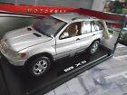 BMW X5 SUV 4x4 silber Geländewagen E53 1999 – 2006 S-Preis Motormax 1:18