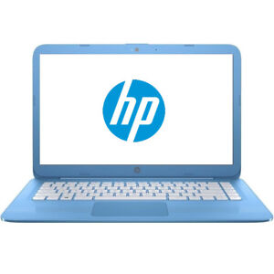 HP-Stream-14-034-Laptop-Intel-1-6GHz-Dual-Core-4GB-RAM-32GB-SSD-Cam-WiFi-HDMI-Win10