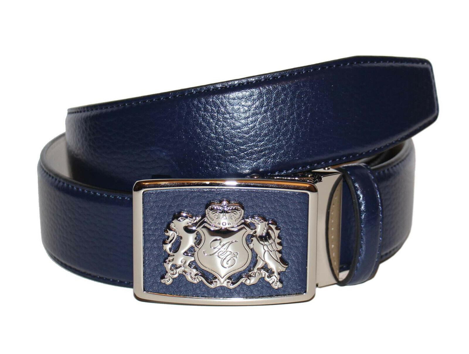 Anthoni Crown Belt Herren Gürtel Ledergürtel Größe 85