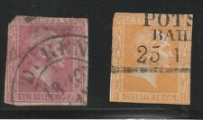 Prussia Scott# 11 & 13 Used