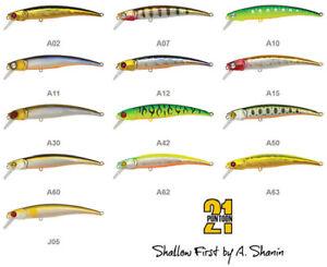 Pontoon 21 TB Trait #0 fishing lures original range of colors