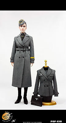 *Brand New* Pop Toy 1/6 WWII German Female Civil Servant Accessory Set US Seller