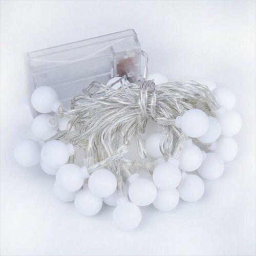 1-5M Fairy LED String Lights Christmas Round Ball Bulbs Wedding Party Lamp Sl