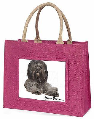 Tibet-Terrier dir für immer Große Rosa Einkaufstasche Weihnachten P,AD-TT2yBLP