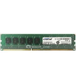 Crucial-8GB-2Rx8-PC3L-12800E-DDR3-1600MHz-240Pin-ECC-Unbuffered-Server-Memory