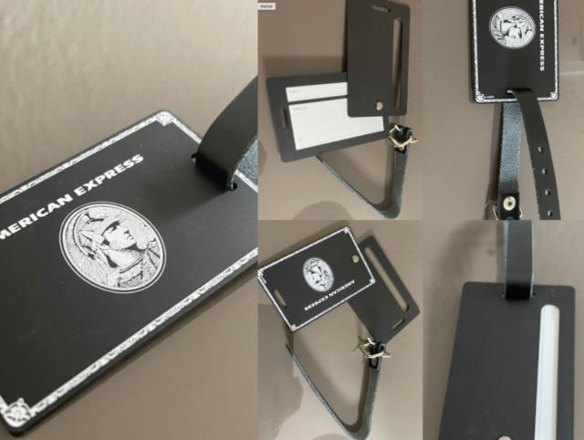 American Express Centurion Black Card Metal Embossed günstig