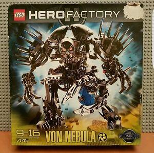 LEGO HERO FACTORY  7145 VON NEBULA  BNIB NEW SEALED  RARE RETIRED FAST POST - <span itemprop=availableAtOrFrom>Uk, United Kingdom</span> - LEGO HERO FACTORY  7145 VON NEBULA  BNIB NEW SEALED  RARE RETIRED FAST POST - Uk, United Kingdom