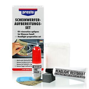 Original-Presto-Scheinwerfer-Aufbereitungs-Set-Reparatur-Politur-Pflege-365171