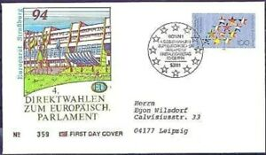 Frg-1994-Eu-Wahlen-FDC-Der-No-1724-With-Bonner-Special-Postmark-Used-20-05