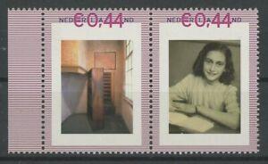 Pays-bas Personnel Stamp Tnt/pnl 2007 Anne Frank Tamponné ** Neuf Sans Charnière Rare!!! Eh68 Sans Retour