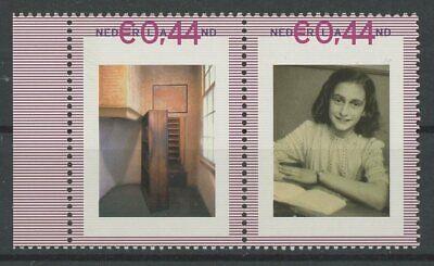Niederlande Personal Stamp Tnt/pnl 2007 Anne Frank Postfrisch ** Mnh Rare!! Eh68