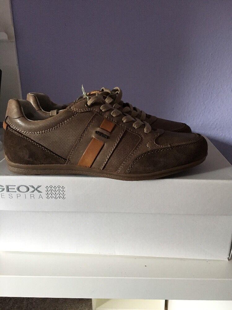 Los últimos zapatos de descuento para hombres y mujeres Geox u houston a-Wax. lea herrensneaker marrón (u62p1a) GR: elegibles nuevo en caja de cartón