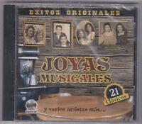 Joyas Musicales-exitos Originales-various-tejano Texmex Latin Cd Sealed