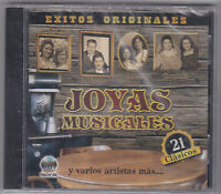 Joyas Musicales-exitos Originales-various-tejano Texmex Latin Cd Sealed