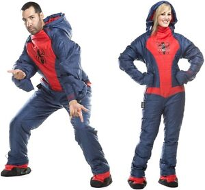 marvel selk bag spider man adult sleeping bag jump suit. Black Bedroom Furniture Sets. Home Design Ideas
