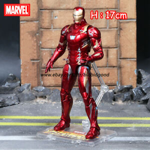 Iron-Man-Tony-Stark-Marvel-Avengers-Legends-Comic-Heroes-7in-Action-Figure-Toys