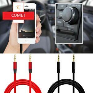 Cable AUX audio Lead 3.5mm Jack a jack estéreo macho para PC Teléfono MP 3 Ipod UK
