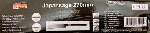 # 3 Stück Japansäge Kataba 27cm Superscharf Säge Feinsäge Handsäge Japan Zugsäge