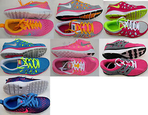 New Nike Dual Fusion Run 2Free ExpressFree 5.0 GS Big Girl Running Shoes Pck 1