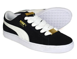 5a520bf36ce Image is loading Puma-Mens-Suede-Classic-BBOY-Black-Trainers-365362-