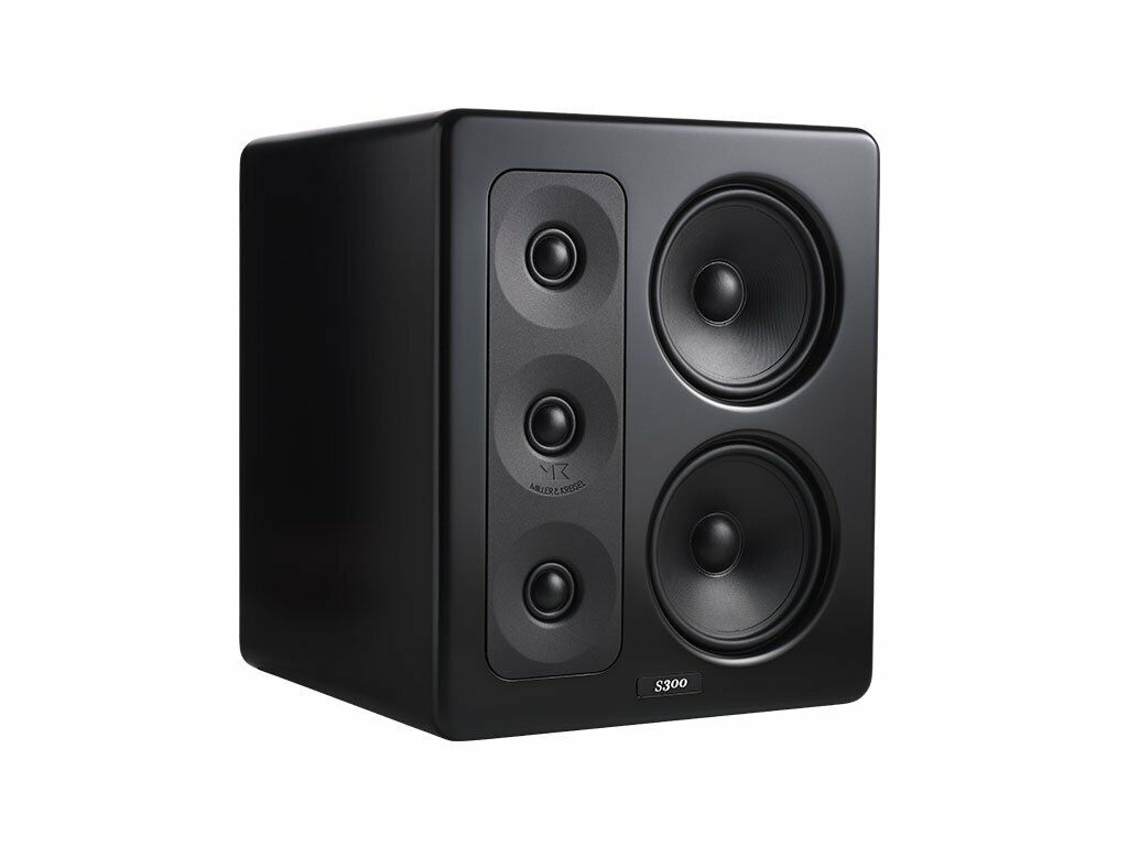 M&K Sound S300 THX Ultra2 Certified Right or Center Channel Monitor - Black. Buy it now for 1599.89
