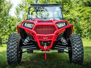 Black ADJUSTABLE Polaris RZR 1000 High Clearance Front lower A-Arms